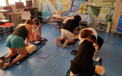Jornadas de fisioterapia en el Centro de Simulación