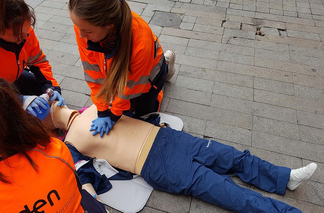 Experto Enfermería de Urgencias Extrahospitalarias de Fuden