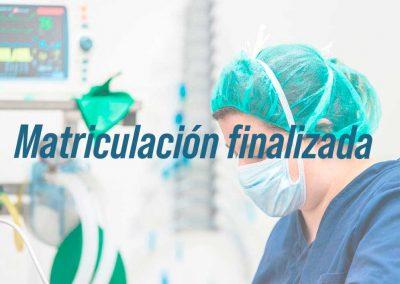 Experto universitario en Procesos e intervenciones enfermeras al paciente adulto en situaciones de riesgo vital