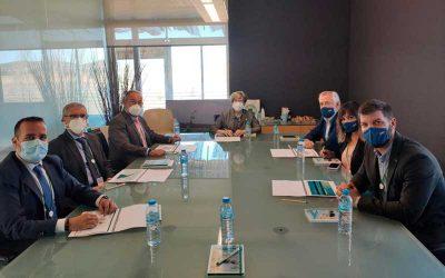 Primer encuentro de la Cátedra Fuden-UCLM con el nuevo rector de la Universidad de Castilla-La Mancha