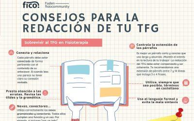 Consejos para redactar tu TFG. Sobrevivir al Trabajo Fin de Grado en Fisioterapia