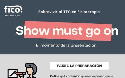 La presentación de tu TFG. Sobrevivir al Trabajo de Fin de Grado en Fisioterapia
