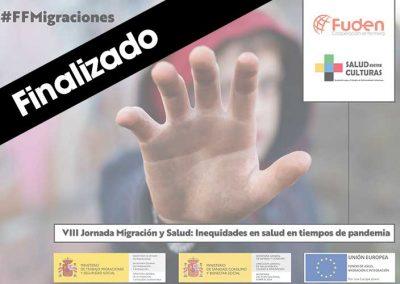 VIII Jornada de Migración y Salud: Inequidades en salud en tiempos de pandemia