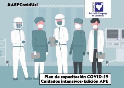 Plan de Capacitación Covid-19. Cuidados intensivos- Edición APE