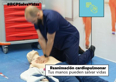 Reanimación cardiopulmonar. RCP