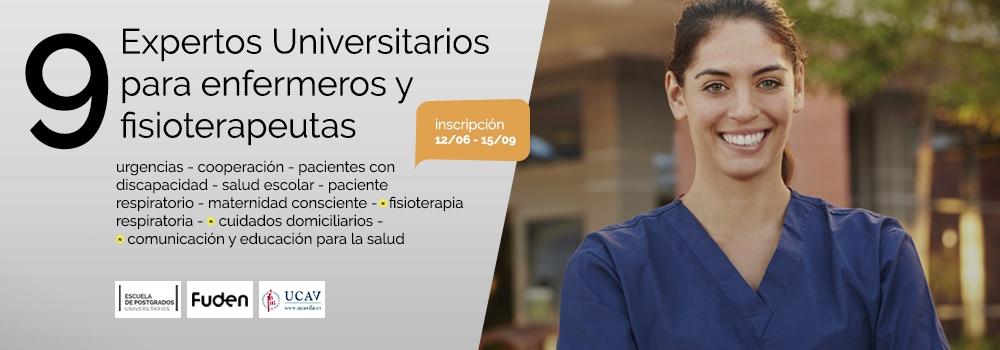 FUDEN y la UCAV lanzan su nuevo catálogo de postgrados para enfermeros y fisioterapeutas