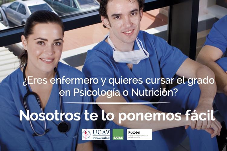 ¿Quieres cursar los grados de Psicología o de Nutrición y Dietética?