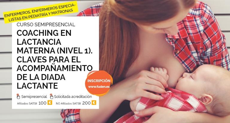 Consigue tu plaza para la nueva edición del curso de coaching en lactancia materna organizado por FUDEN