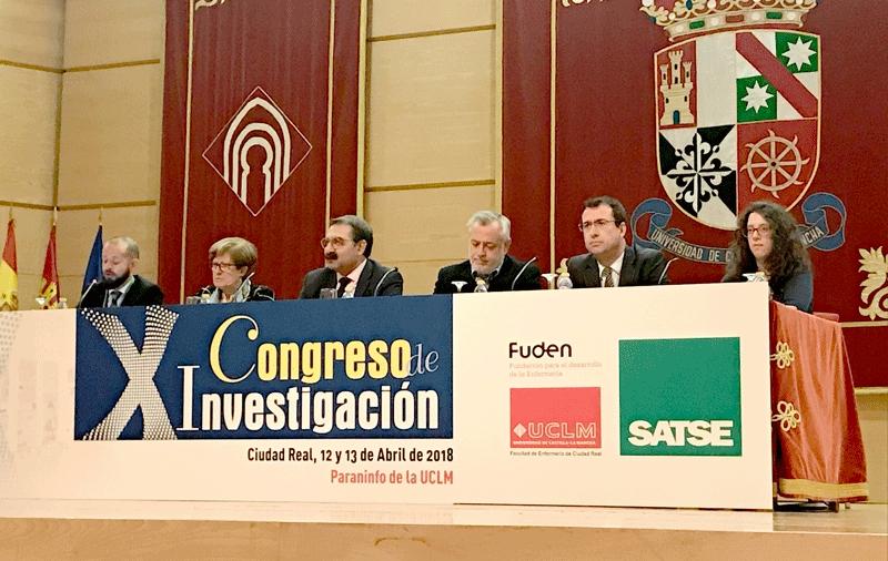 El presidente de FUDEN inaugura  X Congreso de Investigación SATSE Ciudad Real