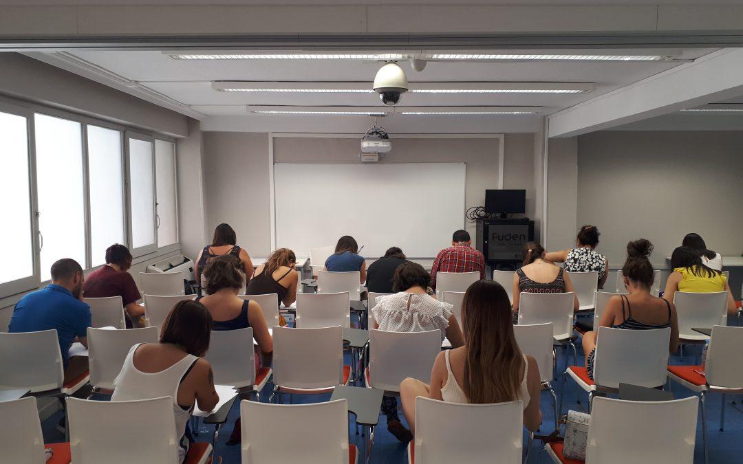 Simulacros presenciales. Preparación de oposiciones FUDEN y SATSE Madrid