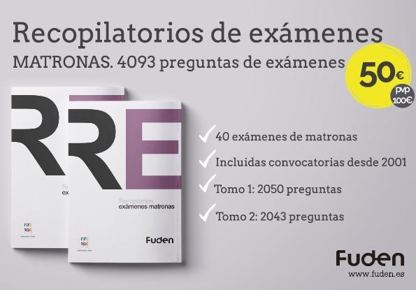 Pack de Recopilatorios de Exámenes para matronas FUDEN