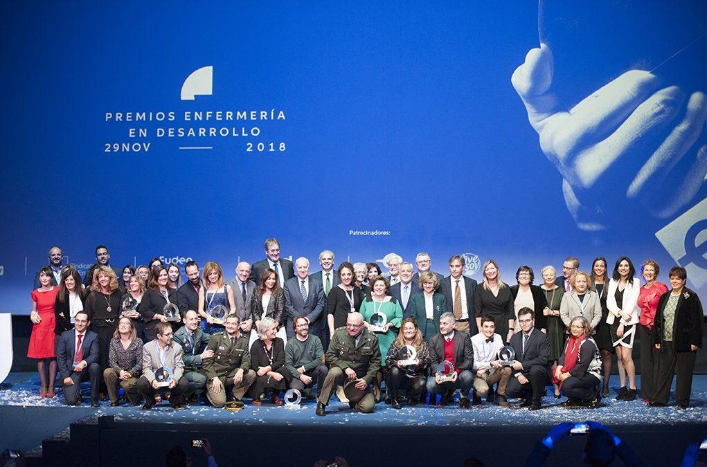 Los Cines Capitol Gran Vía de Madrid han acogido la gran noche de la Enfermería y Fisioterapia de nuestro país.