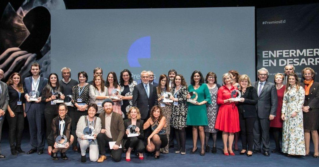 Los Premios Enfermería en Desarrollo reconocen la excelencia de enfermeras y fisioterapeutas de todo el país
