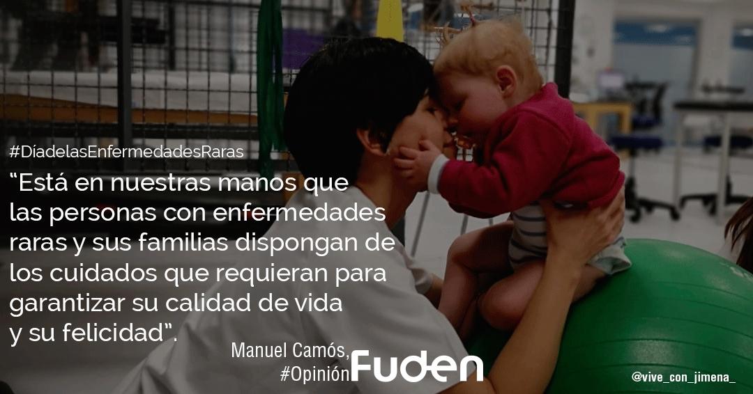 #DíadelasEnfermedadesRaras Enfermería y Fisioterapia, fundamentales para la inclusión