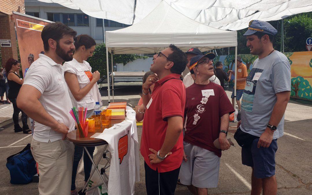 FUDEN participa con una gymnkana de cuidados en la Semana Cultural de Afanias