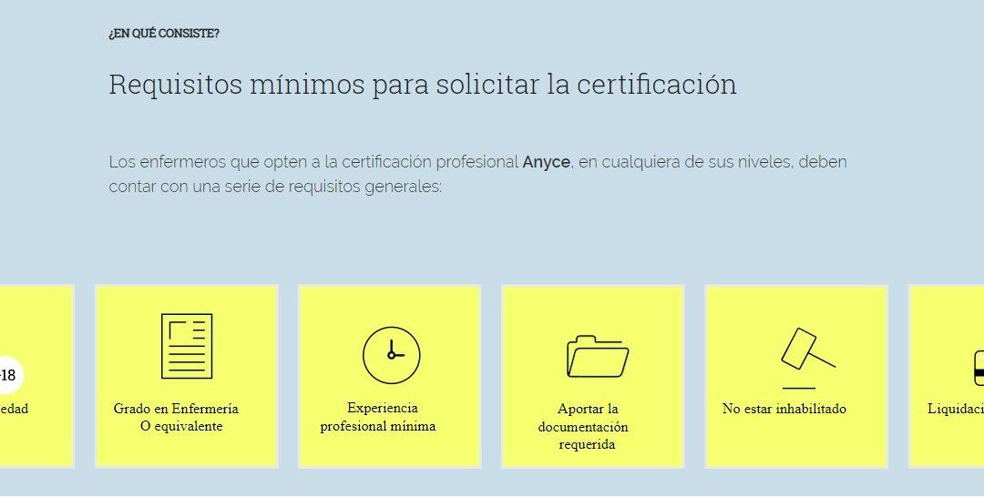 Conoce qué requisitos necesitas para solicitar tu certificado ANYCE