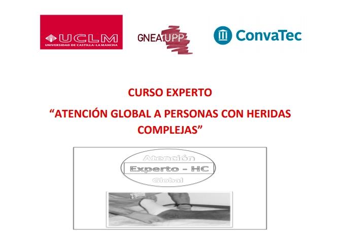 Curso de Experto en Atención Global a Personas con Heridas Complejas UCLM