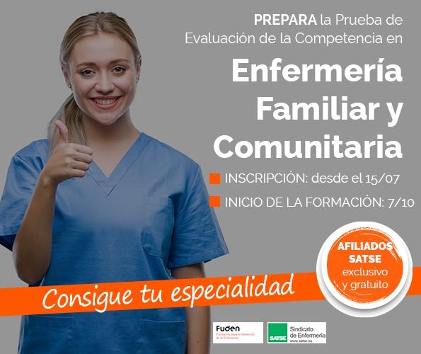 Preparación de la Prueba de Evaluación de la Competencia en Enfermería Familiar y Comunitaria
