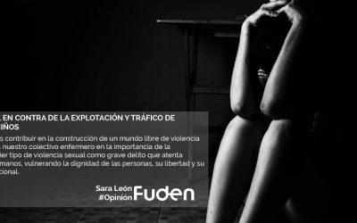 Día Internacional en contra de la Explotación y Tráfico de Mujeres, Niñas y Niños