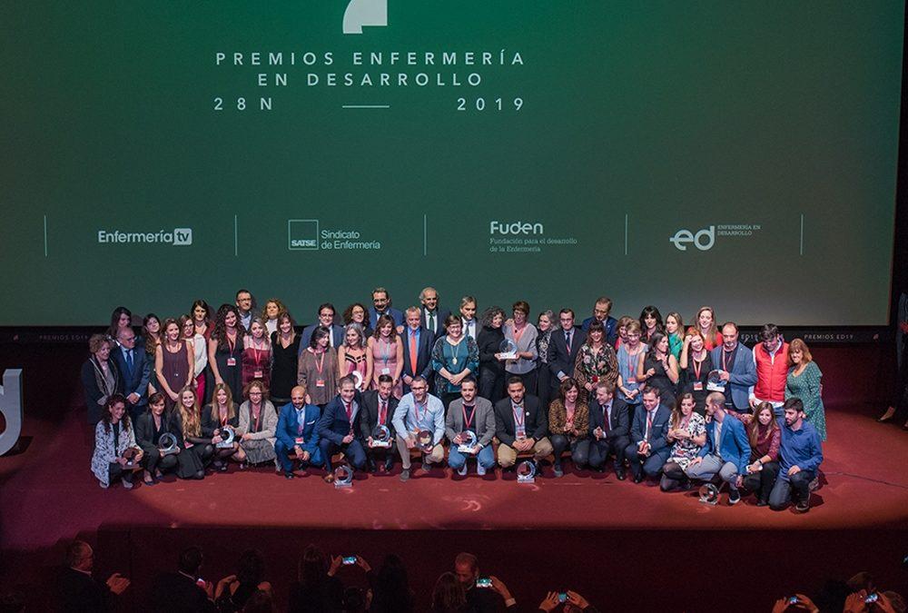 La crónica de nuestros premios Enfermería en Desarrollo 2019