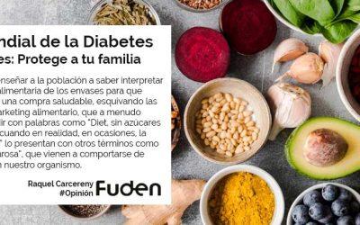 Día Mundial de la Diabetes. Diabetes: Protege a tu familia