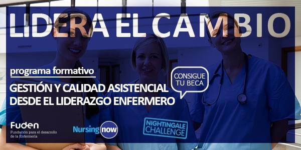 Fórmate gratis en gestión y liderazgo con FUDEN y el Nightingale Challenge