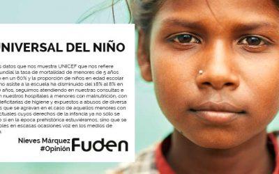 La infancia retenida. #Día Universal del Niño