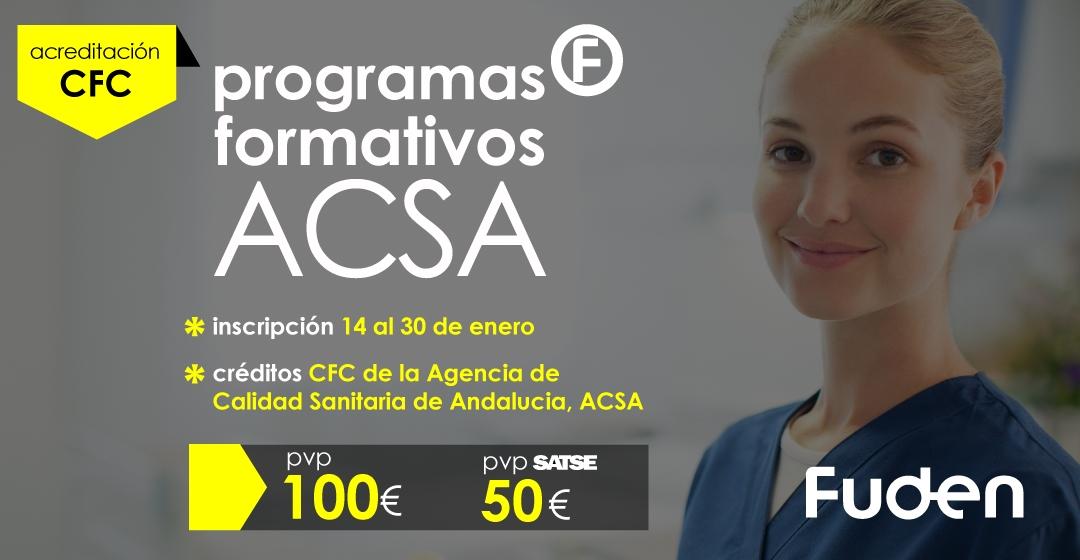 Programas ACSA sobre Investigacion