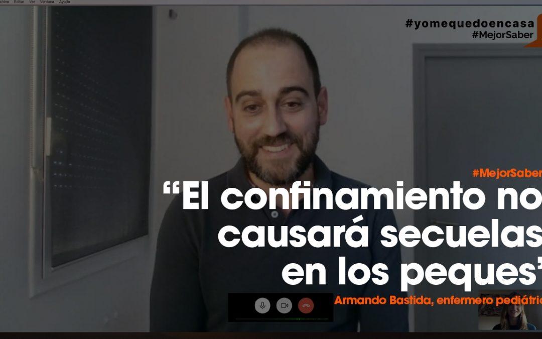 Entrevista a Armando Bastida en #MejorSaber