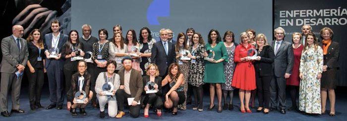 Primera edición de los Premios Enfermería en Desarrollo