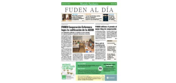 Lanzamiento de nuestra revista FUDEN al Día