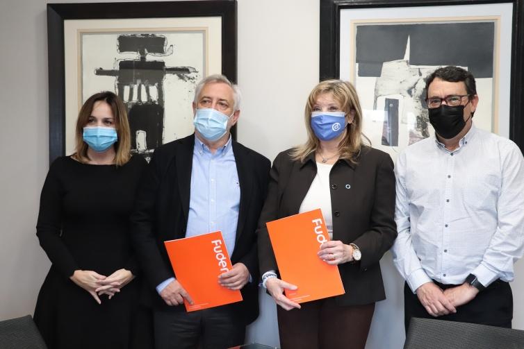 Fuden y la Asociación Diabetes Madrid sellan su acuerdo de colaboración
