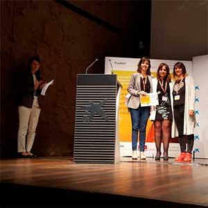 Entrega de premios del I Congreso Nacional de Investigación de Fuden