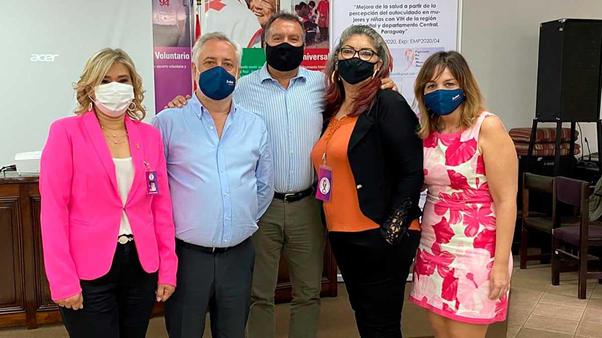 Presentación del proyecto de prevención del VIH de Fuden y la Agencia Asturiana de Cooperación al Desarrollo en Paraguay