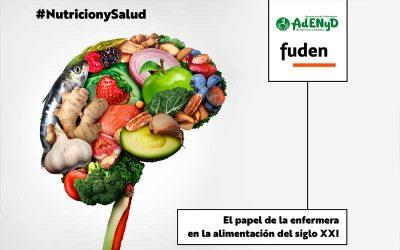 Jornada online 'Nuevos retos en nutrición. El papel de la enfermera en la alimentación del Siglo XXI'