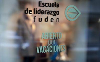 Escuela de Liderazgo FUDEN: abierta por vacaciones